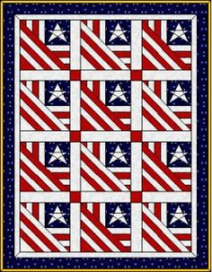 quilts of valor free patterns | patriotic quilt patterns our independence day quilt pattern from ...