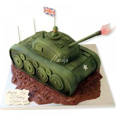 tank cakes - Google Search