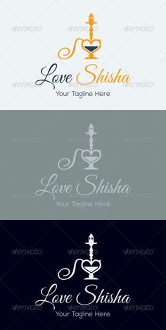 LoveShisha is made by simple vector shapes, suitable to use as logo for gastronomy area, restaurants, bars, clubs or any related p