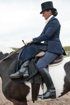 Exclusive images from The Field: side saddle hunting photoshoot - The Field