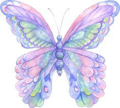farfalla_viola clip art di animali