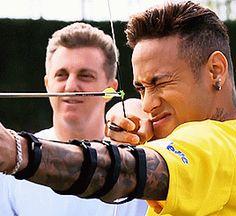 Imagify z Piłkarzami - Neymar Neymar Jr, Football Soccer, Football Players, Everton, Alex Sandro, Daniel Alves, Archery Club, Football Challenges, Neymar Brazil