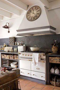 Cucina/Country/Color grigio/ http://www.pinterest.com/Arredocountry/