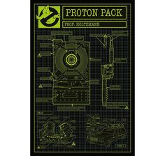 Ghostbusters 3 Poster Proton Pack (Protonenstrahler). Hier bei www.closeup.de