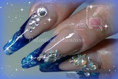 Ricostruzione unghie,Refill Cambio punta / Refill how to remove the tips...