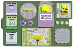 This is a Bible Lapbook to go along with the Adam to Abraham lessons. It includes the Bible stories in Geneses 1-11: Creation, Adam and Eve, ...