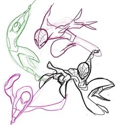 Here, have some sweet Spiderman sketches to make your day 83% more awesome. (nargyle.tumblr.com)