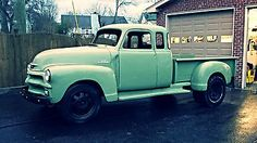 1954 Chevy 7 Window, Extended Cab, Stepside Dually, 1 Of A Kind Hauler, Tow-Rig