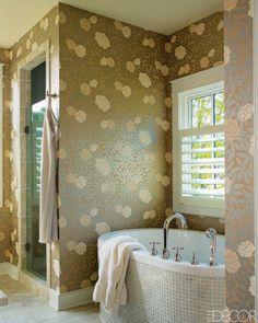 farrow & ball wisteria wallpaper via gardenista | dice | pinterest, Hause ideen