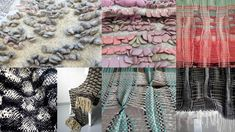 Handweaving experiments Loom Weaving, Hand Weaving, Fiber Art, Animal Print Rug, Inventions, Objects, Textiles, Fabric, Tejido