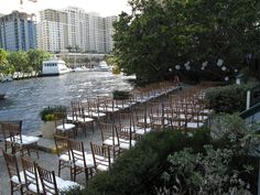 Daytime Wedding Ceremony along the New River at the Stranahan House Wedding Ceremony, Wedding Venues, Daytime Wedding, New River, Big Day, Weddings, House, Wedding Reception Venues, Wedding Places