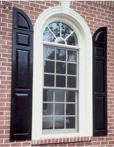 Exterior Window Trim Brick arch trim window crosshead composite fiberglass columns | arches