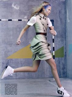 Vogue Italia Editorial Glam & Sporty, March 2010 Shot #13