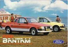 Ford Bantam, based on Mark 3 Escort.