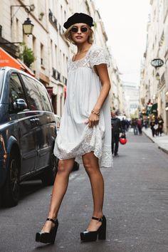 Sarah Ellen wears Spell Designs Sunday Feels Mini Dress