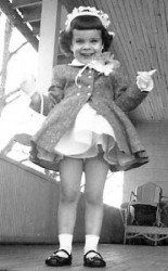What would Easter be without an Easter bonnet in the 1950s?