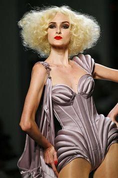 Haut Couture Fashion corset- Jean Paul Gaultier - Sculptural Fashion Design