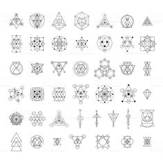 Find Sacred Geometry Signs Collection Linear Modern stock images in HD and millions of other royalty-free stock photos, illustrations and vectors in the Shutterstock collection. Thousands of new, high-quality pictures added every day. Sacred Geometry Meanings, Sacred Geometry Patterns, Sacred Geometry Tattoo, Art Design, Design Elements, Mandala Arm Tattoo, Hand Tattoo, Desenho Tattoo, Art Moderne