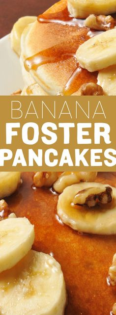 Fuel your little ones up for back to school success with the Banana Foster Pancakes.