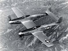 North American Twin Mustang - Last American Piston-engine fighter ordered into production by the United States Air Force. The First three North Korean aircraft destroyed by US Forces were shot down by Mustang Parts, P51 Mustang, Us Air Force, Ww2 Aircraft, Military Aircraft, Luftwaffe, Me262, Photo Avion, Experimental Aircraft