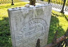 Because I could not stop for Death –  He kindly stopped for me –   Emily Dickinson, died today in 1886. West Cemetery, Amherst.