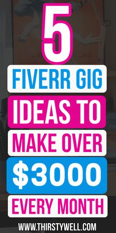 Are you looking to make money from Fiverr then this article is for you as you will learn about 5 gigs ideas in which you can make over $3000 per month. Read more in the article.    #fiverrgigsideas  #fiverrideasmakemoney  #fiverrideas Online Earning, Earn Money Online, Excellence Quotes, Invoice Design, Way To Make Money, How To Make, Questions, Affiliate Marketing, Helpful Hints
