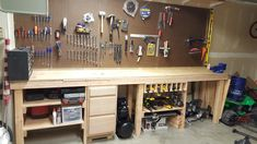 My work bench I built still some finishing up to do but where I am at so far! http://ift.tt/2D2kO28