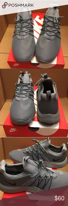 Brand new in box nike darwin! Brand new in box nike gray and black darwin. Size 10.5 men......100% authentic. Ask for your size i just might have it Nike Shoes Sneakers