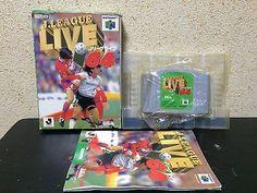 J League Live 64 Nintendo 64 Japan Nintendo boxed set NTSC-J