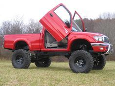2001 toyota tacomas off road and lifted - Google Search