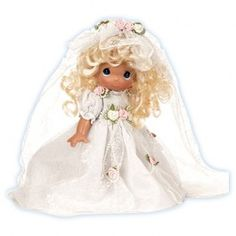Wedding Bells - Blonde Bride - Wedding - Dolls - Precious Moments