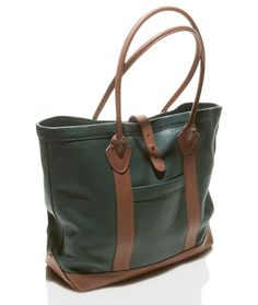 Signature Heritage Leather Tote. This bag is impressive. For its size 5e3a2b8f9519a