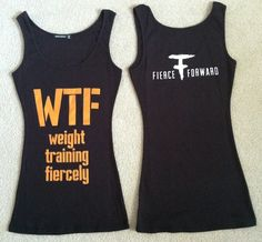 @Ashley Johns of Fierce Forward designs Fierce Gear that we love!!!