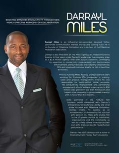 Darrayl Miles Bio in PDF        Derrick Miles Bio in PDF