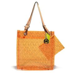 2014 New Michael Kors Jet Set Logo Medium Orange Tote Michael Kors Jet Set, Cheap Michael Kors, Michael Kors Tote, Cheap Designer Bags, Designer Handbags On Sale, Straw Handbags, Cheap Handbags, Hermes Handbags, Handbags Online