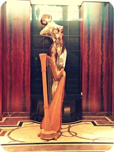 Photo: The harp looking small for once- at the Park Hyatt Melbourne