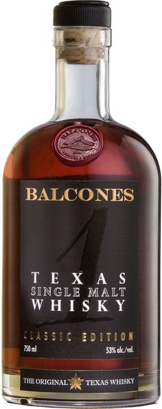 "Named ""best whisky"" many times over, Balcones Texas Single Malt is made from 100% Golden Promise barley and aged in several different types of casks.Balcones Texas Single Malt Whisky 