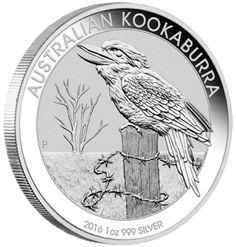 2016 Kookaburra One  Ounce  Silver Coin 99.9 pure silver coins,bullion coin, perth mint coin,kookaburra  coin