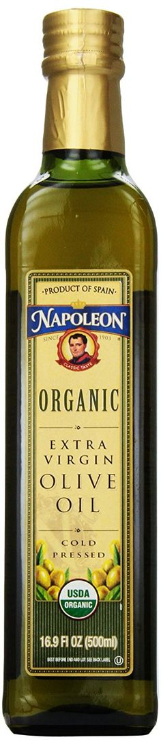Napoleon Organic Extra Virgin Olive Oil, 16.9 Ounce ** Details can be found by clicking on the image.