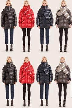 Dare to be bold in a statement, Rudsak puffer jacket this season Grey Puffer Coat, Parka Coat, Puffer Jackets, Winter Jackets, Shearling Coat, Biker Style, Season 7, Leather Design