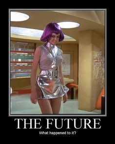 Gabrielle Drake UFO! Ltn. Gay Ellis looks down on what was wax in her hands before!