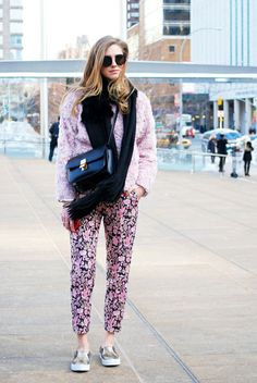 The Best Street Style from New York Fashion Week, Day One: Chiara Ferragni Blogger: The Blonde Salad