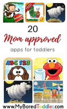 Best Apps for toddlers. If you are looking for free or paid apps for toddlers, this list has narrowed down your search! A teacher and mother of two, shows you her top picks for educational apps for toddlers.