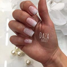 Autumn ombre nails, Beautiful gradient nails, Beige and pastel nails, Caviar…