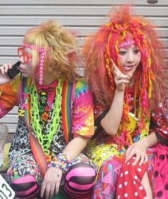 fizzy grape soda: Harajuku Girls