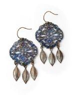 Vintaj brass earrings