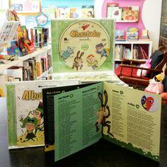 """Acabamos de recibir el CD del grupo Almozandia. Os presentamos """"Alborotados"""", 14 canciones para niños para cantar y bailar sin parar :)"""