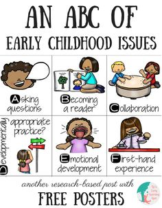 An ABC of Early Childhood Issues - Liz's Early Learning Spot