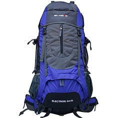 60L Waterresistant Hiking BackpackTrekking Bag BackpackingClimbing Backpackcamping BackpackTravel Backpack Blue -- Want additional info? Click on the image.(This is an Amazon affiliate link and I receive a commission for the sales)