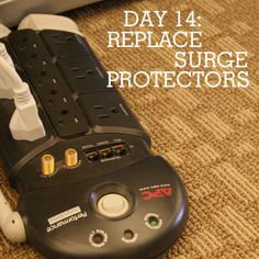 How to care for surge protectors ... they protect those valuable electronics!